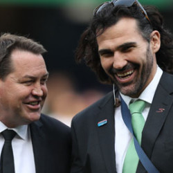 Steve Hansen and Victor Matfield 1566174330